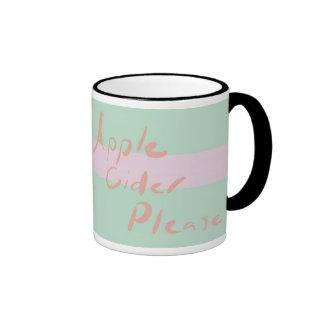 apple cider please mug