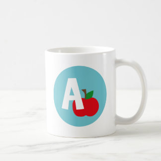 apple classic white coffee mug