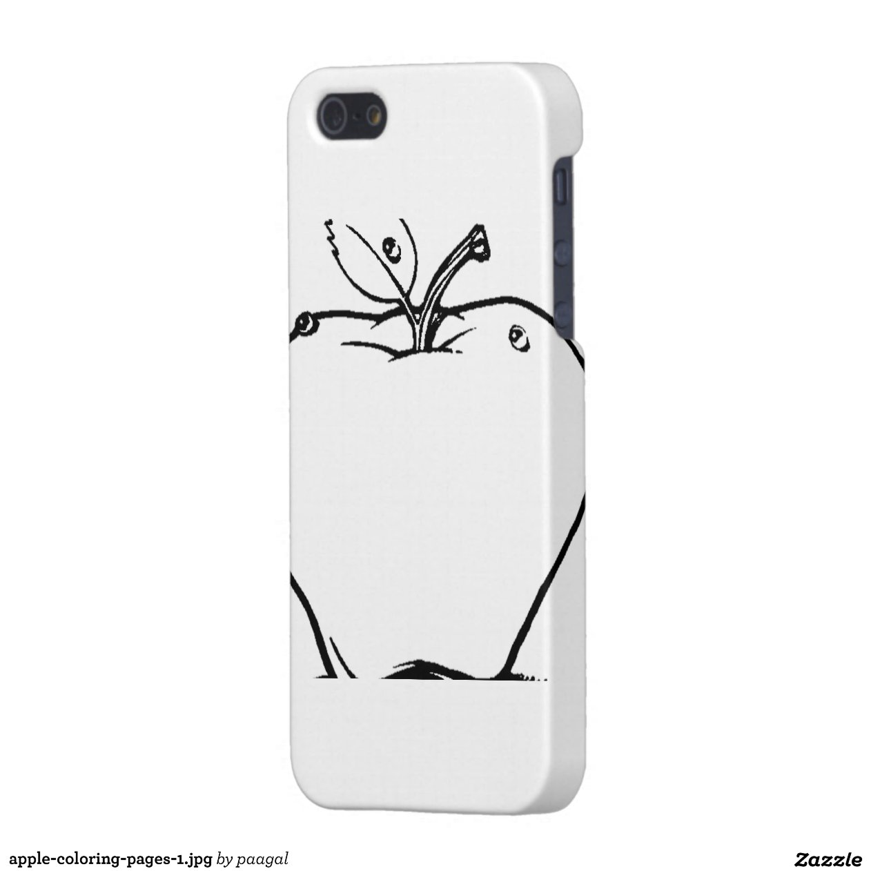 Iphone Case Coloring Page