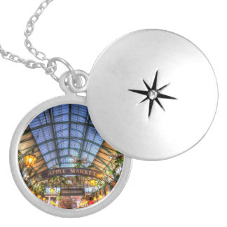Apple comercializa el jardín de Covent Londres Medallón