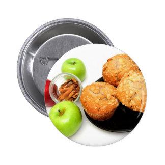 Apple condimenta los molletes pins