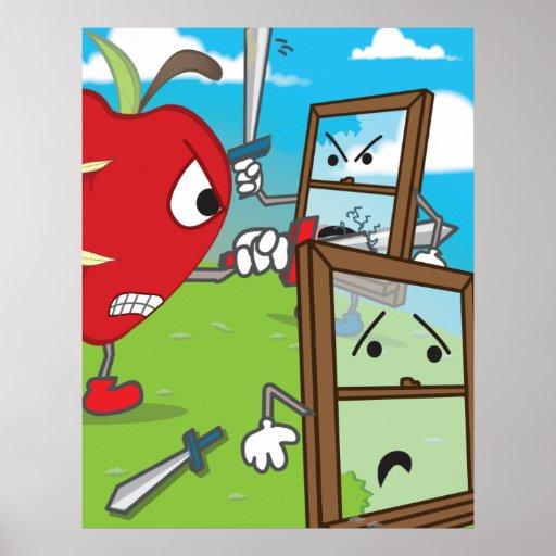 Apple contra el poster de Windows
