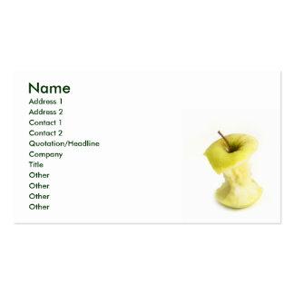 Apple core business card