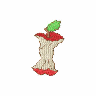 Apple Core Embroidered Shirt