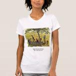 Apple cosecha en Eragny, por Camille Pissarro Camisetas
