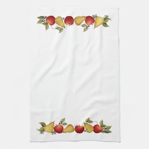 Apple cosecha - la toalla de cocina