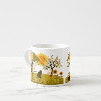 Apple cosecha taza espresso