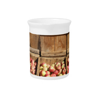 Apple Crates Picture Pitcher