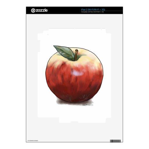 Apple crujiente calcomanías para el iPad 2