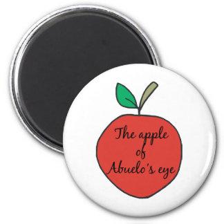 Apple de Abuelo' ojo de s Imán De Frigorifico