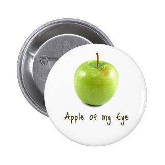 Apple de mi ojo pins