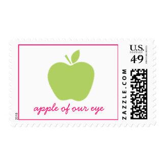 Apple de nuestro ojo sella sellos postales