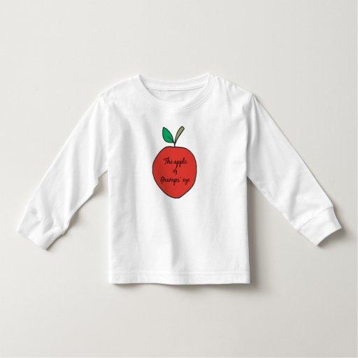Apple del ojo de Gramps Remera