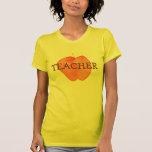 Apple del profesor camiseta