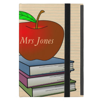 Apple del profesor personalizado iPad mini fundas