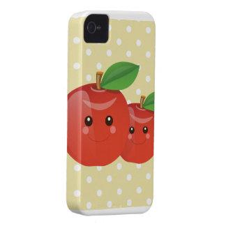 Apple dulce diseña la caja de Blackberry Funda Para iPhone 4