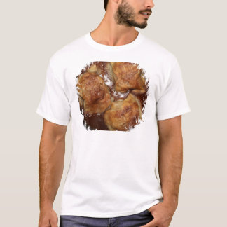 Apple Dumplings framed round T-Shirt
