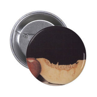 Apple e insignia del botón del melón pins