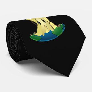 apple earth tie