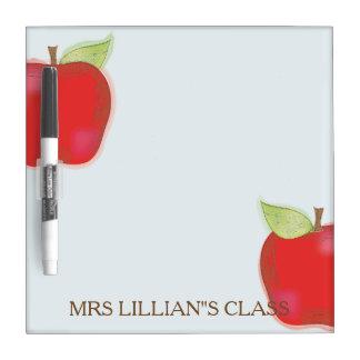 Apple Editable Dry Erase Board