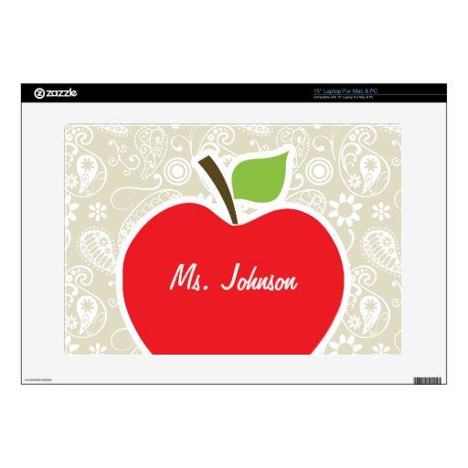 Apple en Ecru Paisley Portátil 38,1cm Skins