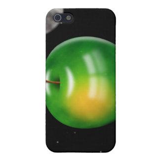 Apple en espacio iPhone 5 cárcasa