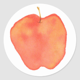 Apple Etiquetas Redondas