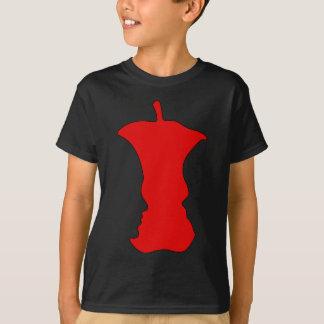 Apple Face Optical Illusion T-Shirt