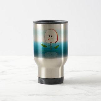 Apple Face Travel Mug