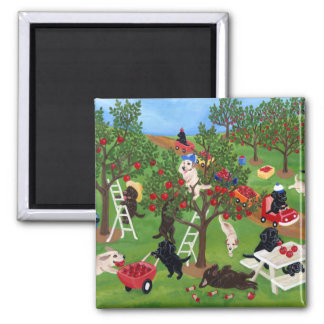 Apple Farm Labradors Magnet