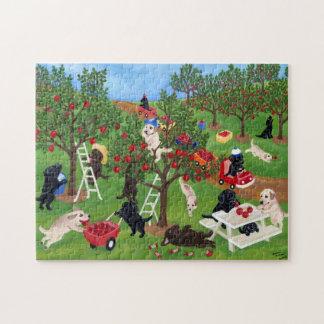 Apple Farm Labradors Puzzle