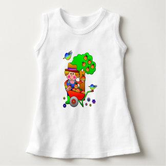 Apple Farmer Gathering His Apple Harvest T Shirt
