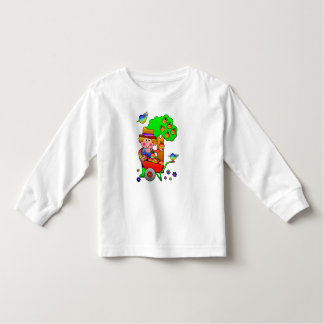 Apple Farmer Gathering His Apple Harvest Toddler T-shirt