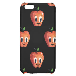 Apple feliz modela