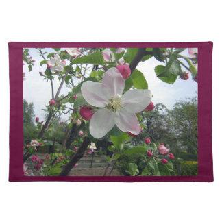 Apple florece americano MoJo Placemat Mantel Individual
