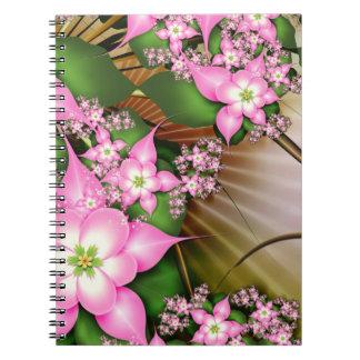 Apple florece estación (el cuaderno) libros de apuntes