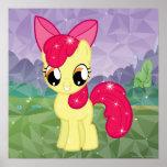 Apple florece impresiones
