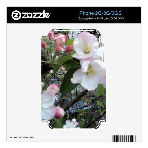 Apple florece iPhone 3 skins