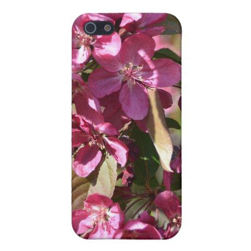 Apple florece iPhone 5 carcasa