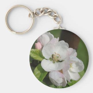 Apple florece llavero