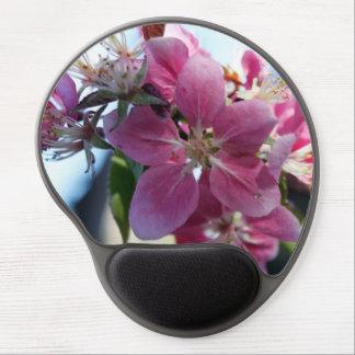 Apple florece Mousepad - Gel-Estilo Alfombrillas Con Gel