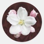 Apple florece pegatina del ~