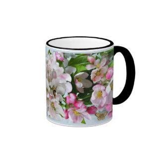 APPLE FLORECE taza de café del campanero