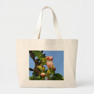 Apple florece todavía cerrado bolsa tela grande