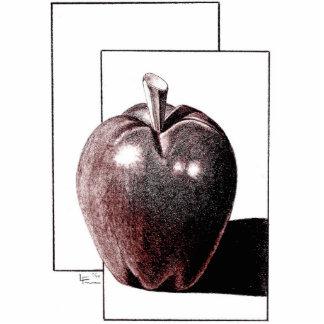 APPLE for Art Teacher Standing Photo Sculpture