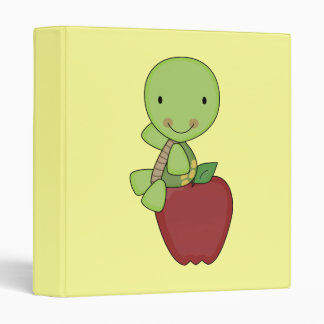 apple for teacher turtle binder