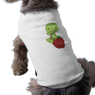 apple for teacher turtle tee