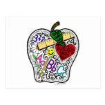 Apple for the teacher post cards