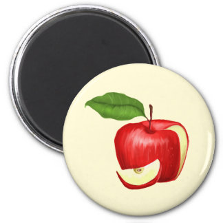 Apple Fridge Magnet Personalized and Customizable