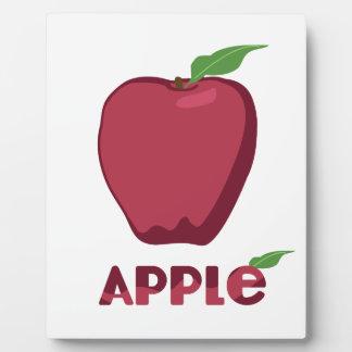 Apple Fruit Display Plaque